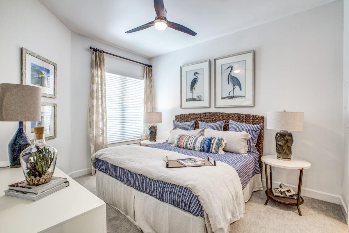 bedroom in luxury houston tx apartment