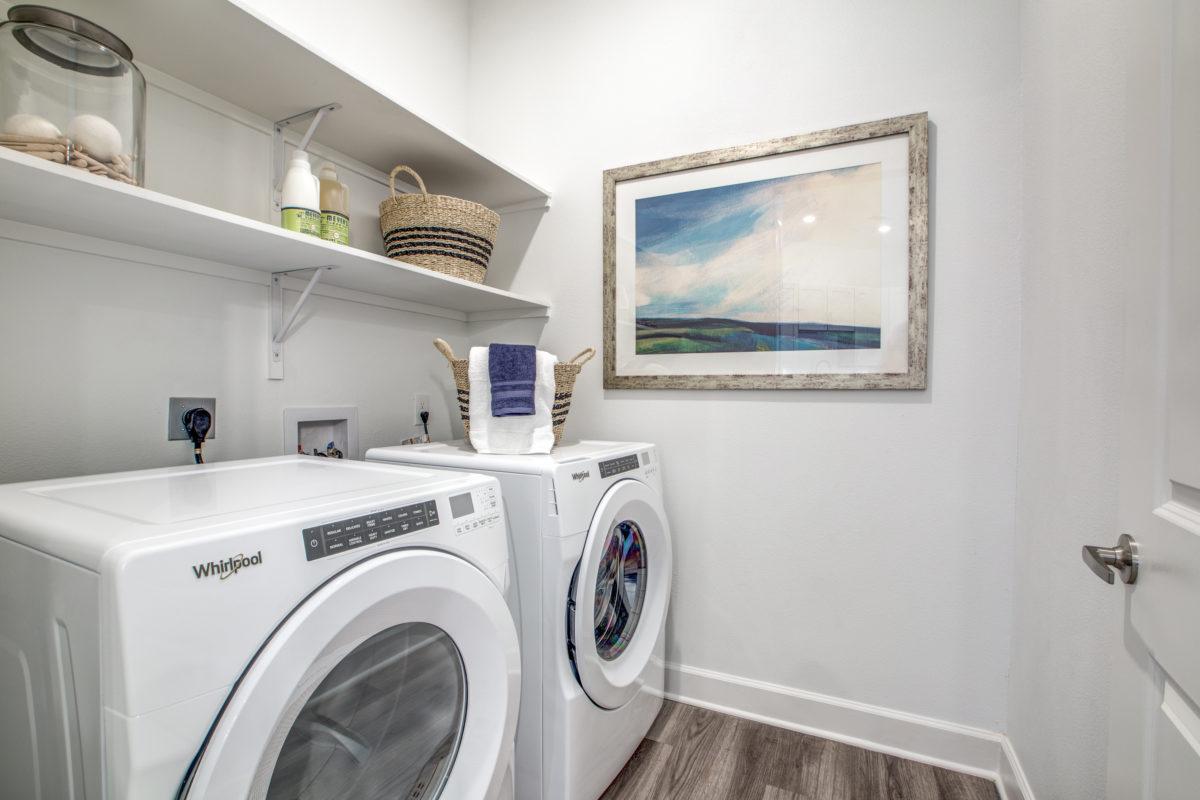 in-unit washer & dryer in luxury houston tx apartment