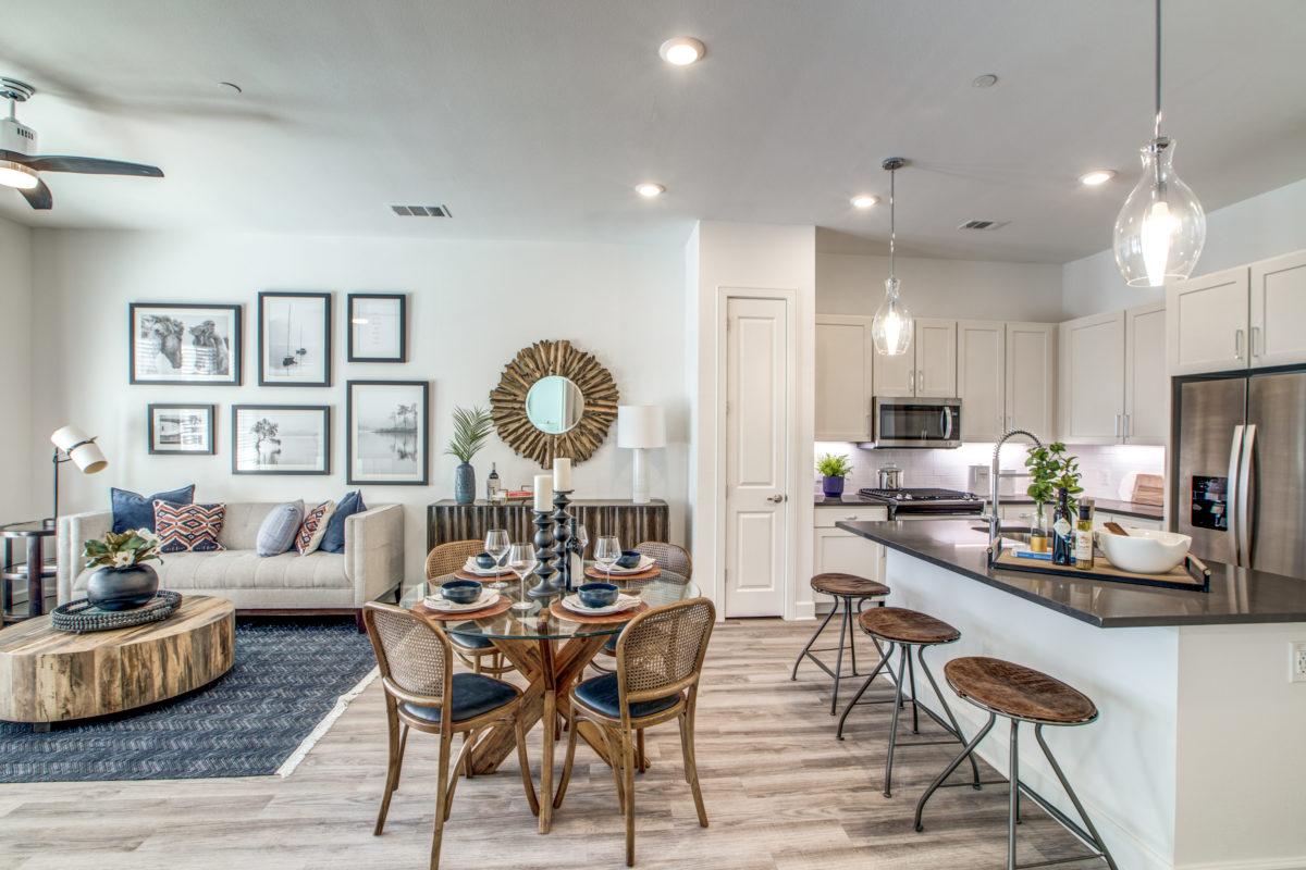 open floor plans in luxury houston tx apartment
