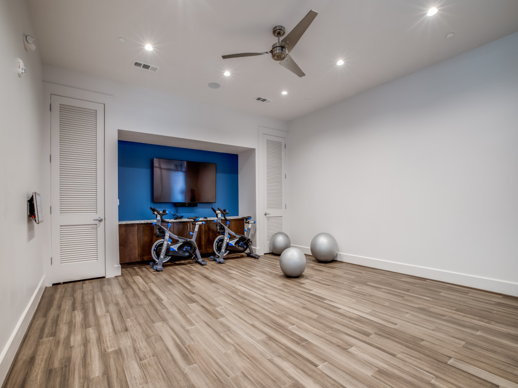 yoga room in luxury houston tx apartment near Humble, TX