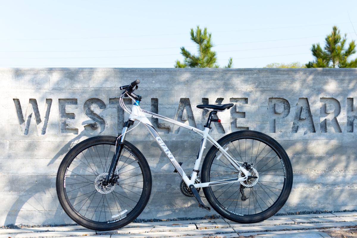 west lake park with biking trail near houston tx apartments